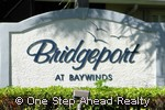 sign for Bridgeport of Baywinds