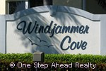 sign for Windjammer Cove of Baywinds